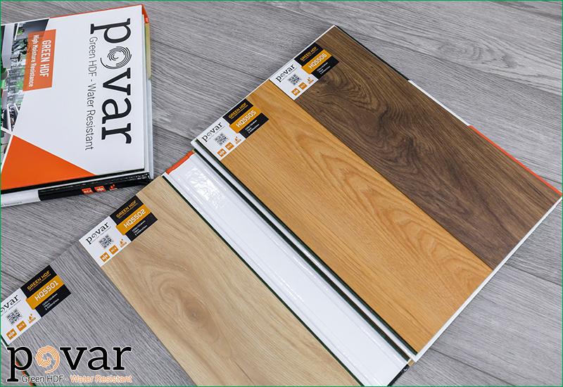 Sàn gỗ Povar - Made in Viet Nam