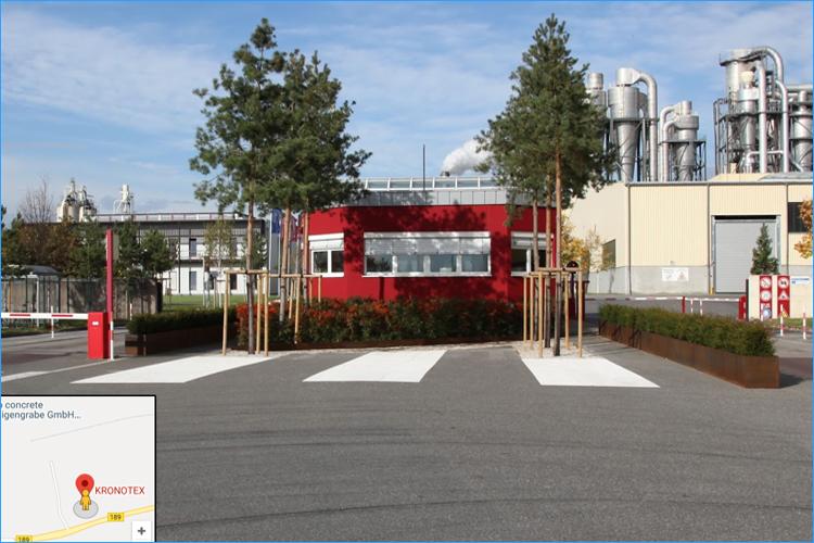 Nhà máy sàn gỗ Kronotex - Germany